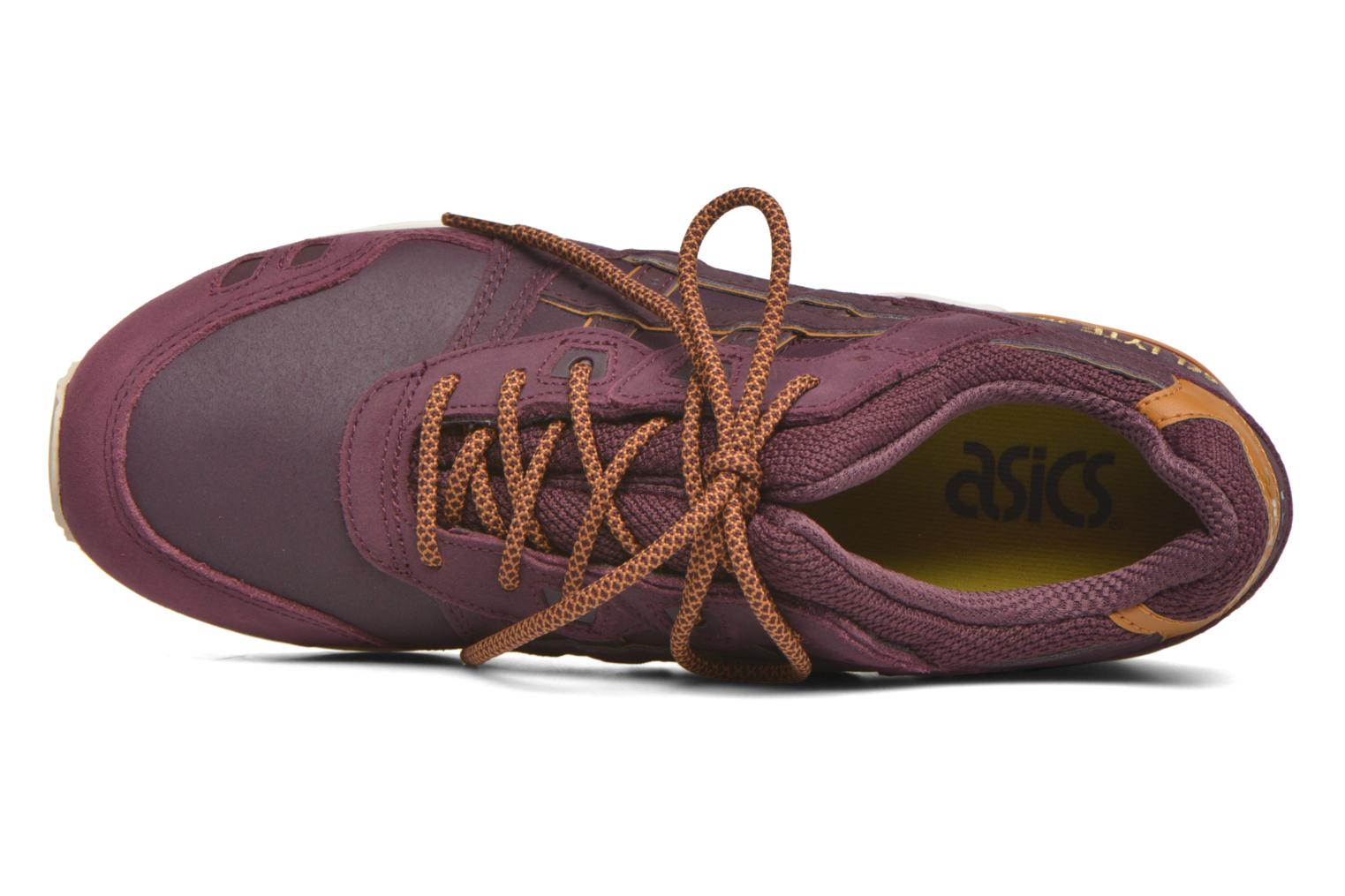 Trainers Asics Gel-lyte III Burgundy view from the left