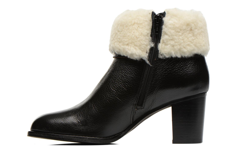 Bottines et boots Georgia Rose Chalet Noir vue face