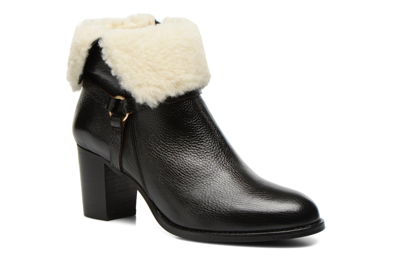 Bottines et boots Georgia Rose Chalet Noir vue détail/paire