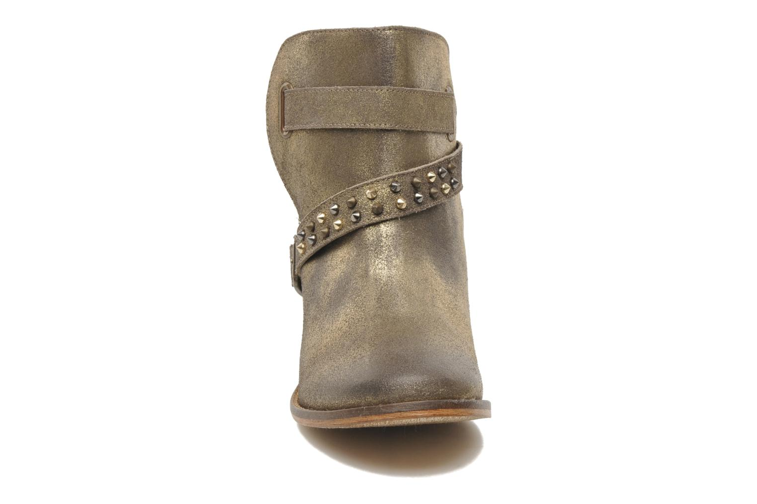 Ankle boots Berenice I Burn Bronze and Gold model view