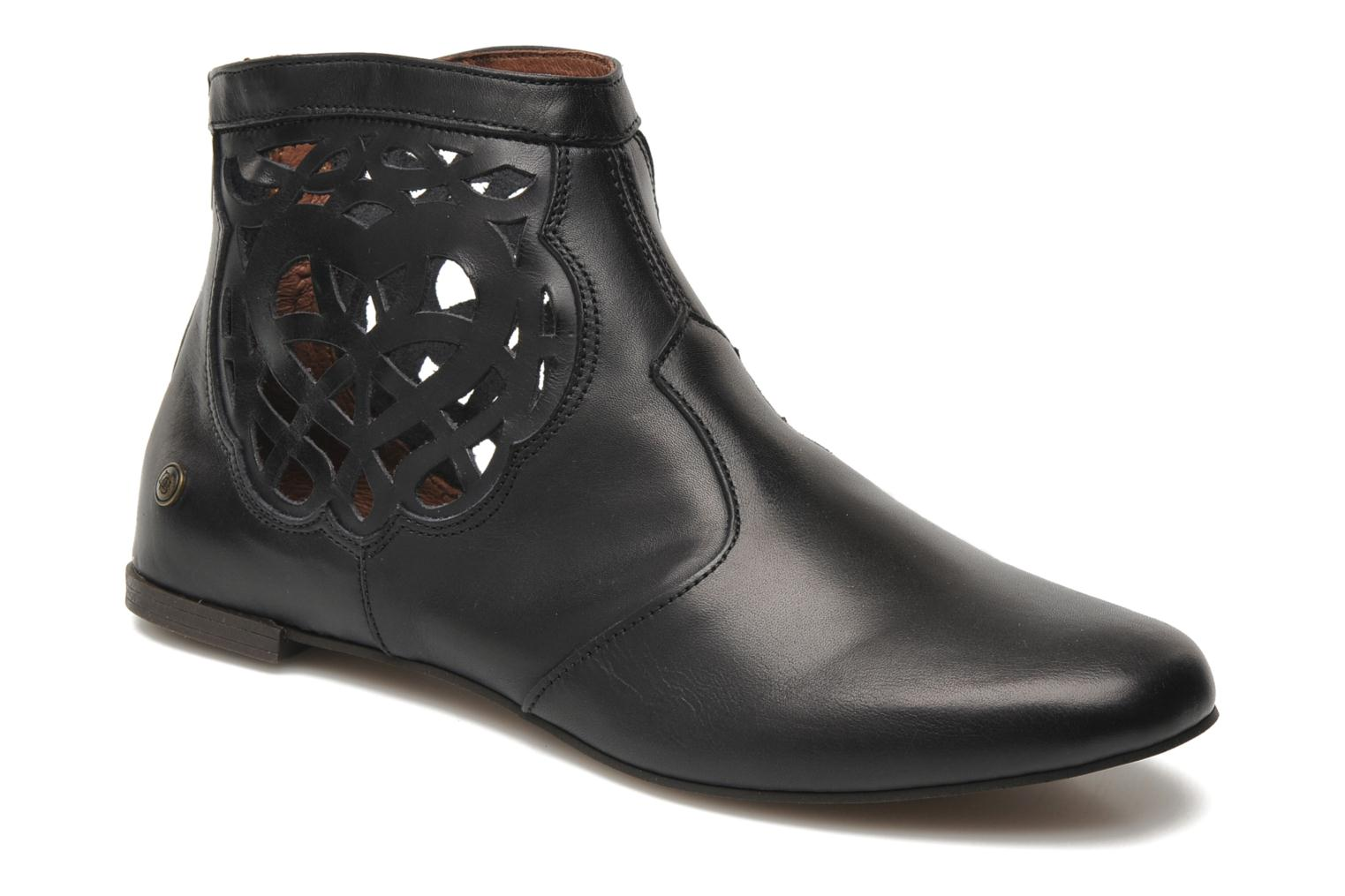 Ankle boots Neosens Bobal 325 Black detailed view/ Pair view
