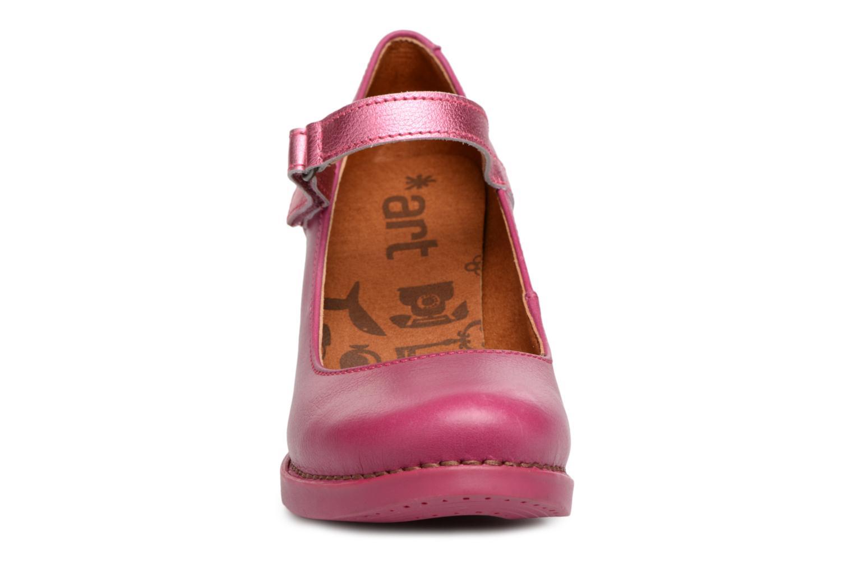 Escarpins Art Harlem 933 Rose vue portées chaussures