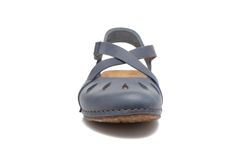 Sandali e scarpe aperte Art Creta 449 Azzurro modello indossato
