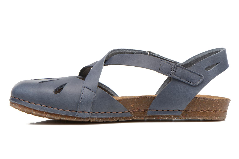 Sandali e scarpe aperte Art Creta 449 Azzurro immagine frontale