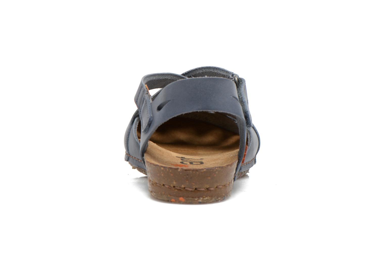 Sandali e scarpe aperte Art Creta 449 Azzurro immagine destra