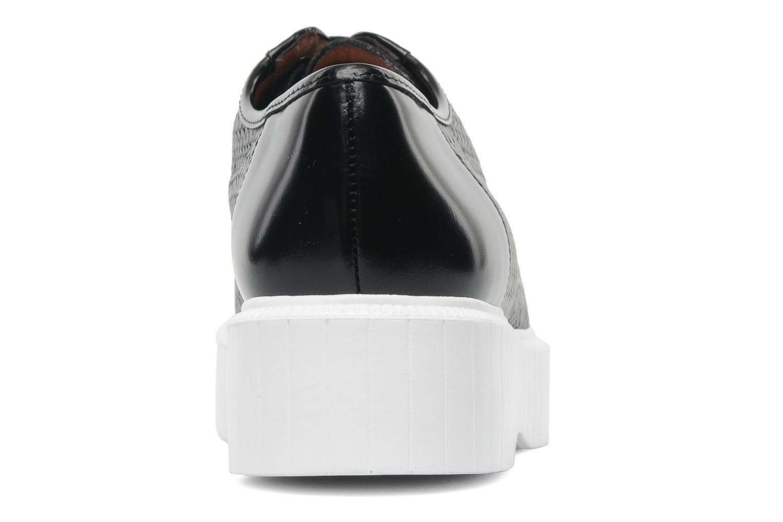 Polo tomette noir/ plateau blanc