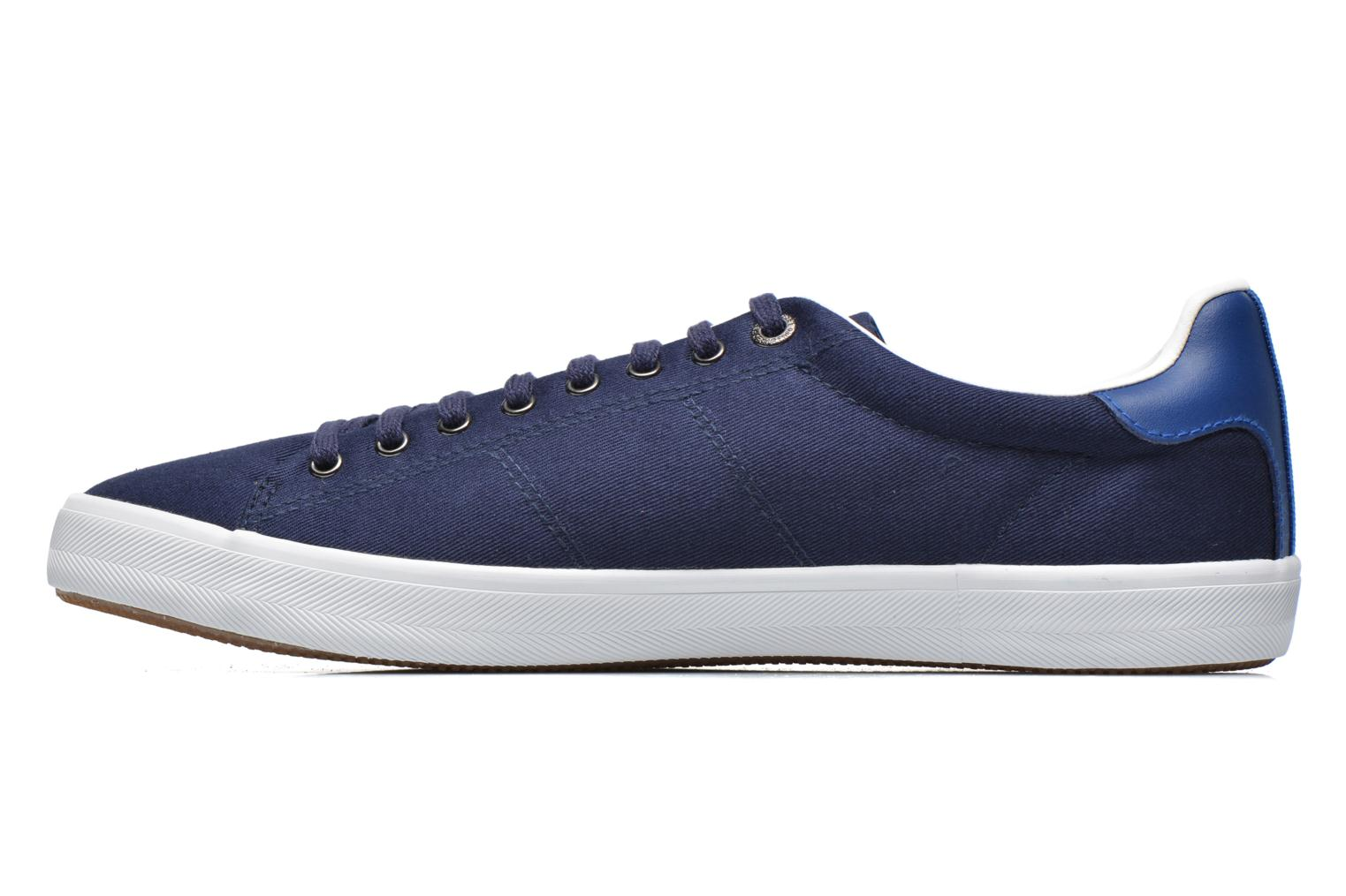 Sneakers Fred Perry Howells Twill Blauw voorkant