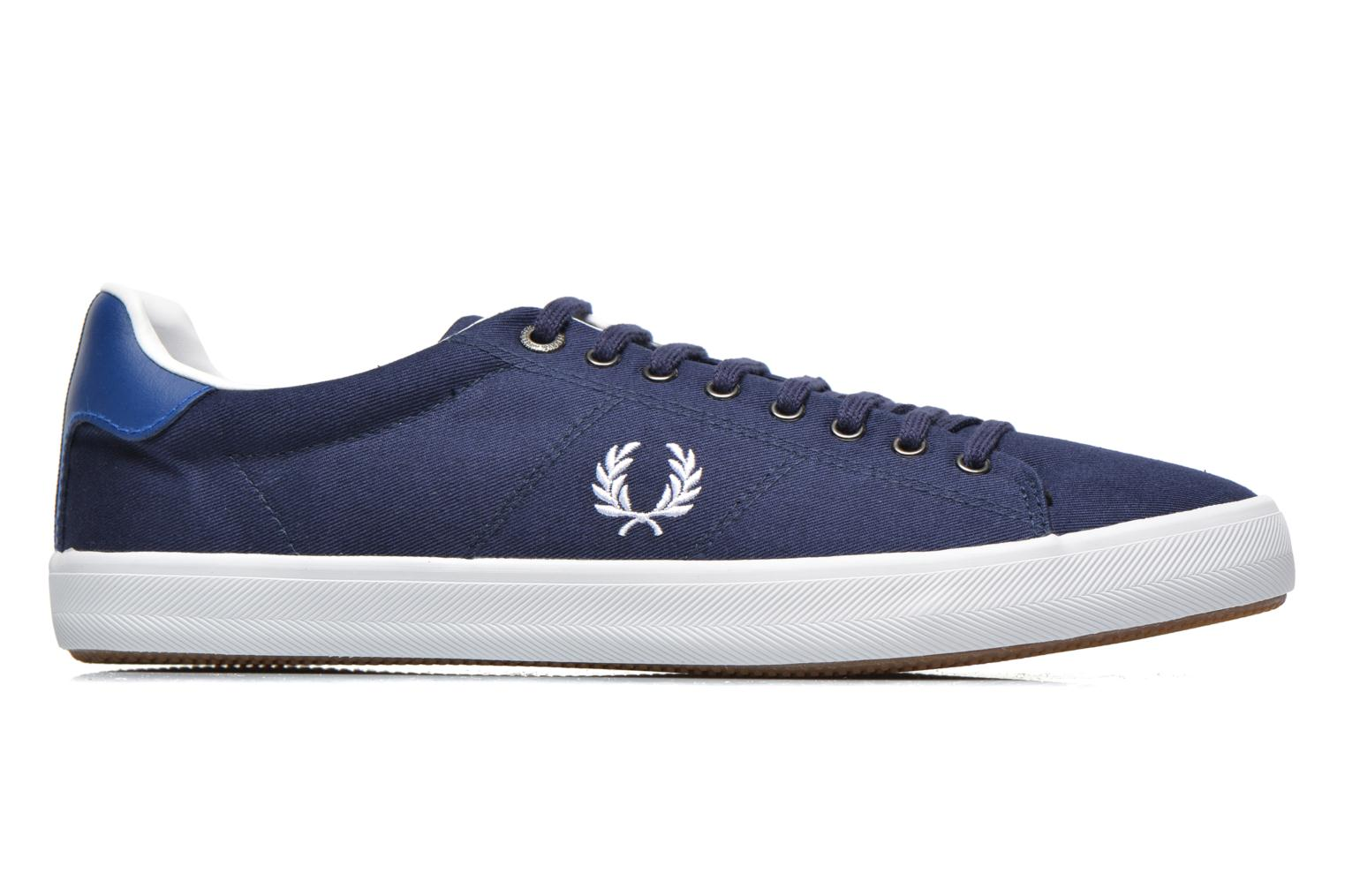 Sneakers Fred Perry Howells Twill Blauw achterkant