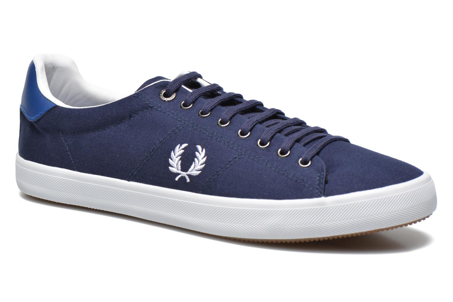 Sneakers Fred Perry Howells Twill Blauw detail