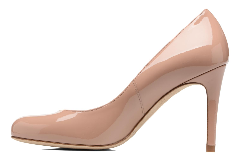 High heels L.K. Bennett Stila Beige front view