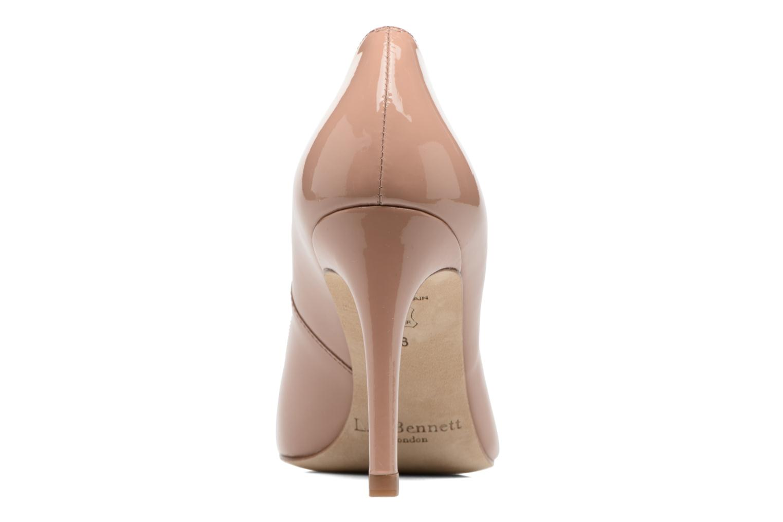 High heels L.K. Bennett Stila Beige view from the right