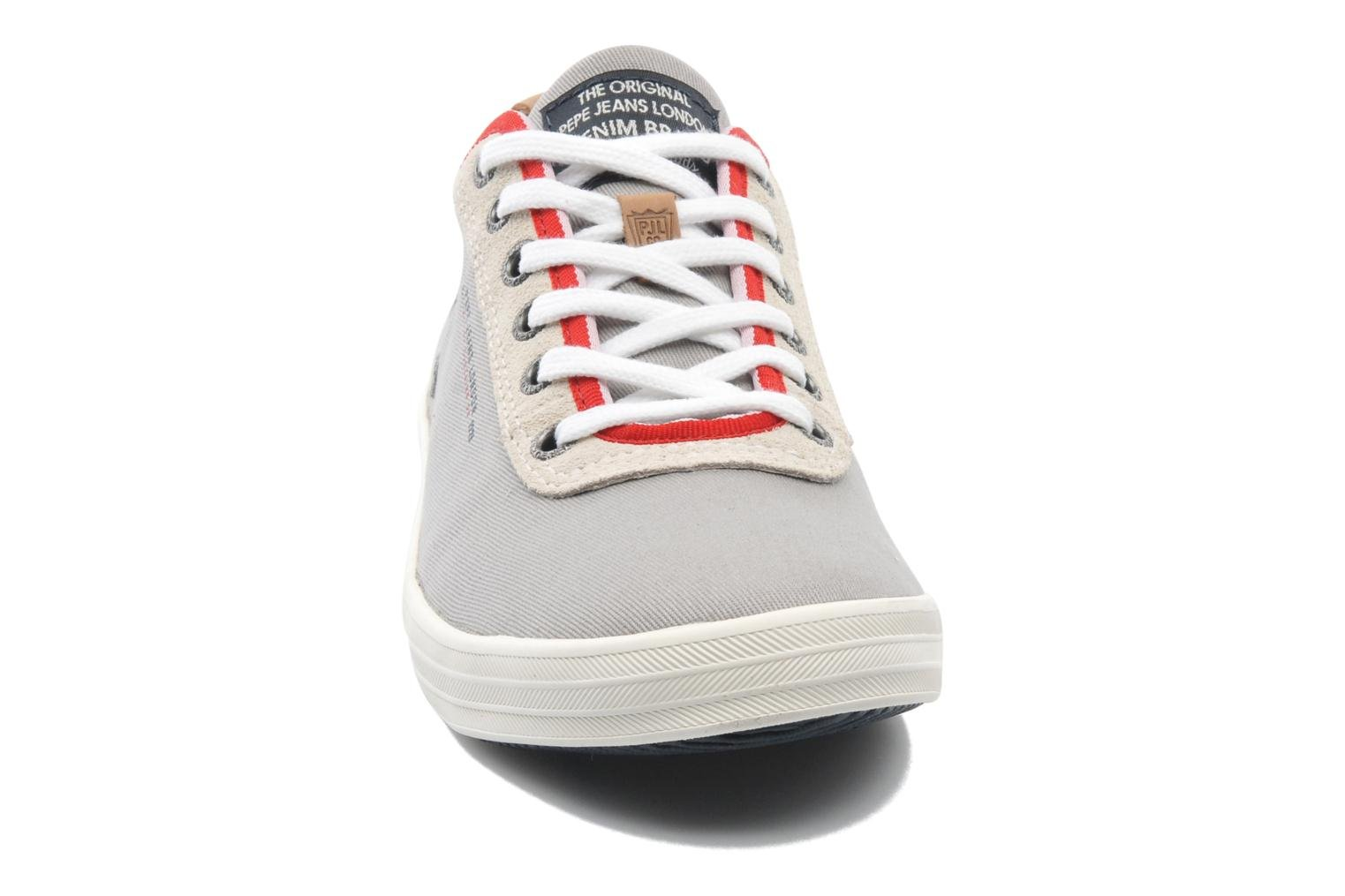 Trainers Pepe jeans Britt 1 Grey model view