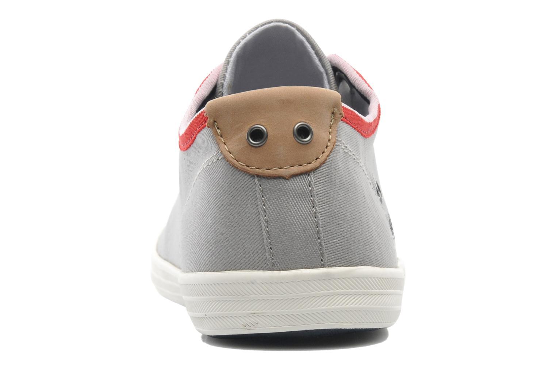 Sneaker Pepe jeans Britt 1 grau ansicht von rechts
