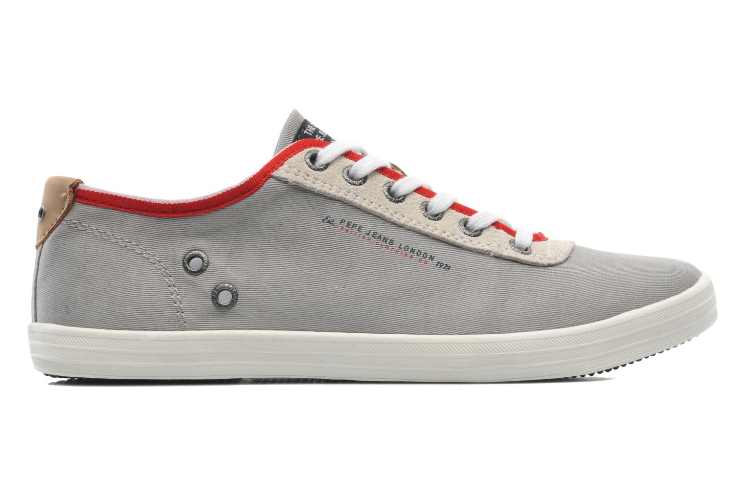 Trainers Pepe jeans Britt 1 Grey back view