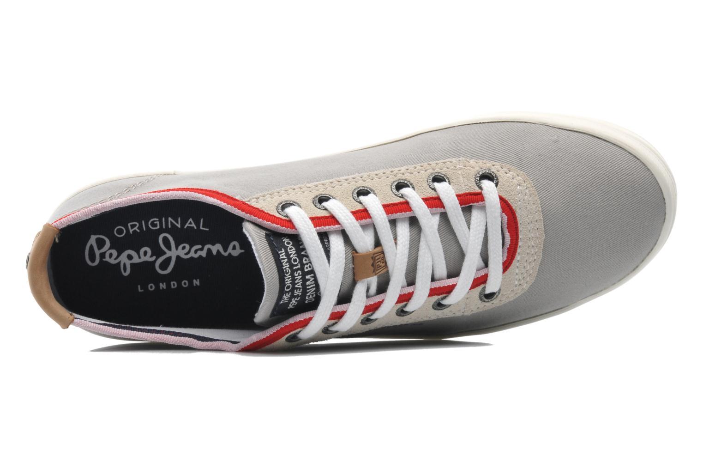 Sneaker Pepe jeans Britt 1 grau ansicht von links