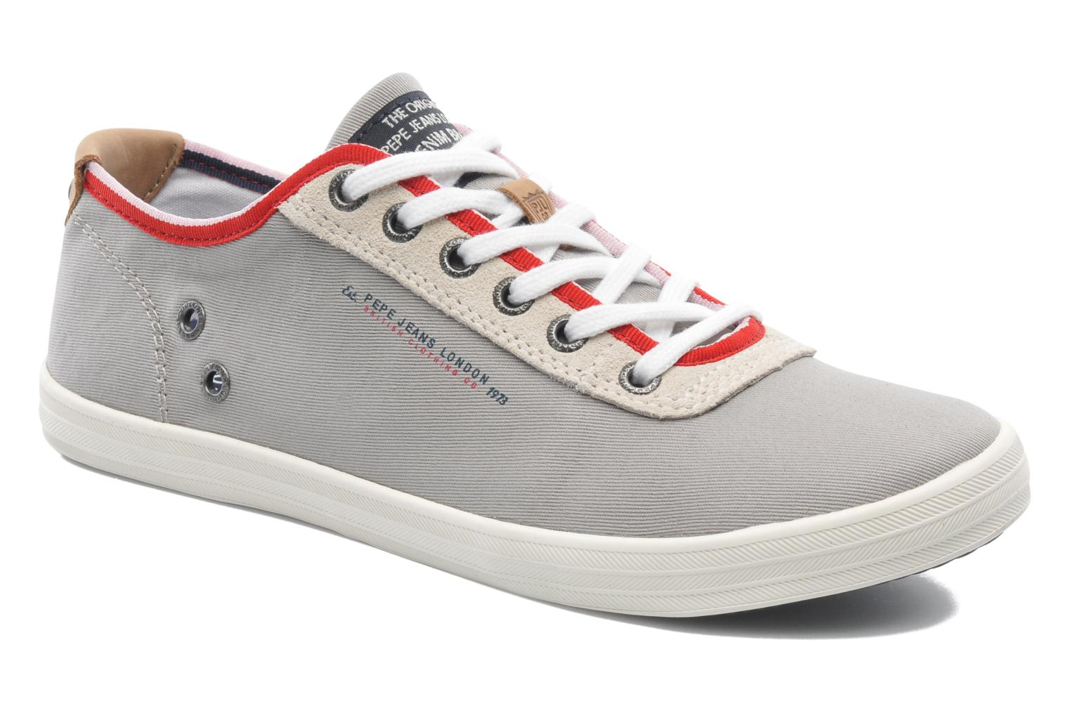 Trainers Pepe jeans Britt 1 Grey detailed view/ Pair view