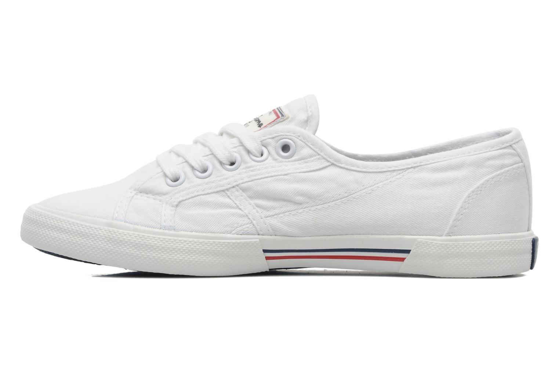 Sneakers Pepe jeans Aberlady Wit voorkant