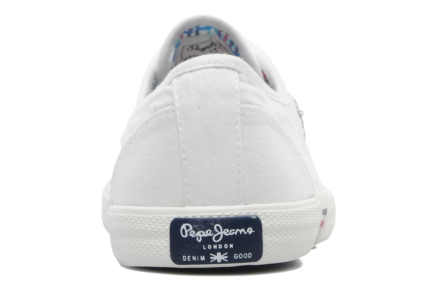 Sneakers Pepe jeans Aberlady Wit rechts