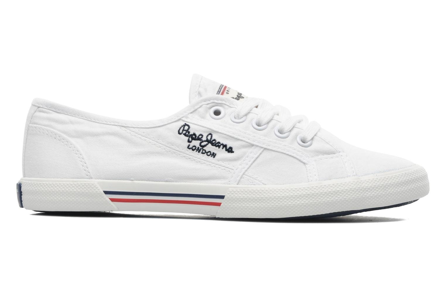 Sneakers Pepe jeans Aberlady Wit achterkant