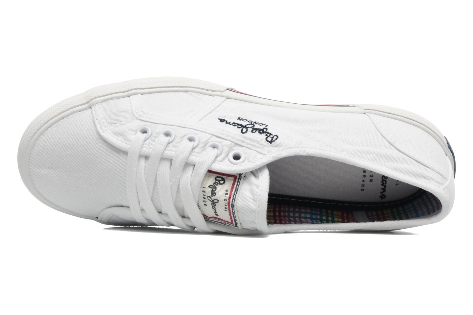 Sneakers Pepe jeans Aberlady Wit links