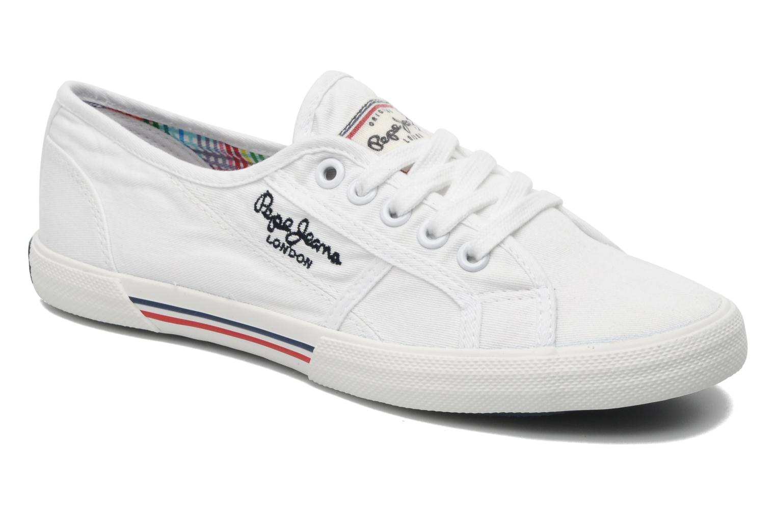 Sneakers Pepe jeans Aberlady Wit detail