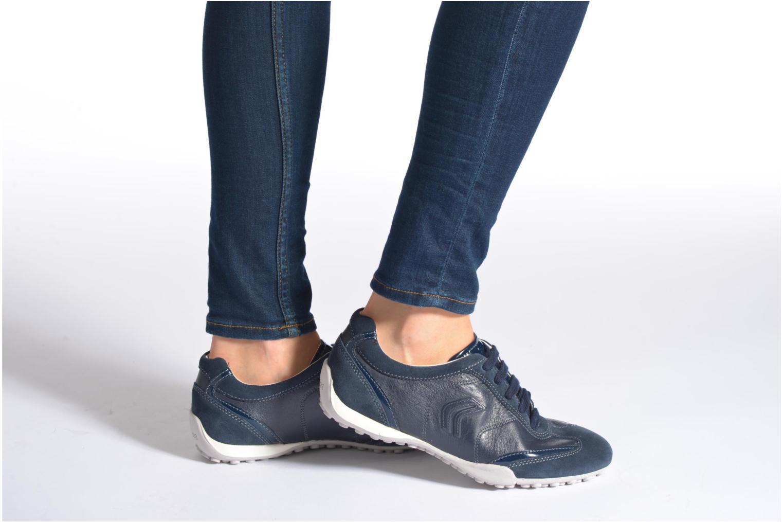 Sneakers Geox D SNAKE X D3212X Beige onder