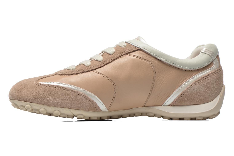 Sneakers Geox D SNAKE X D3212X Beige voorkant