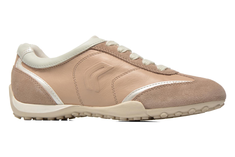 Sneakers Geox D SNAKE X D3212X Beige achterkant
