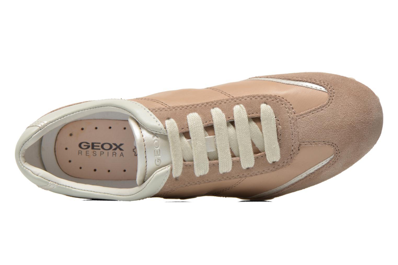 Sneakers Geox D SNAKE X D3212X Beige links