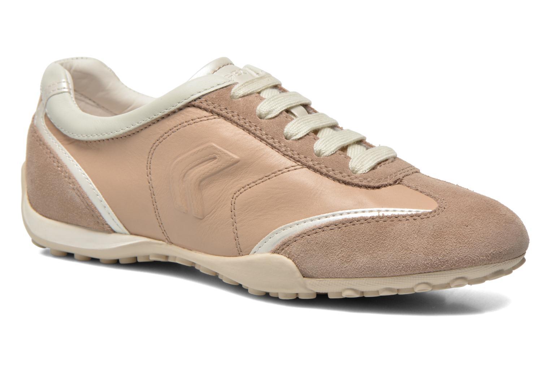 Sneakers Geox D SNAKE X D3212X Beige detail
