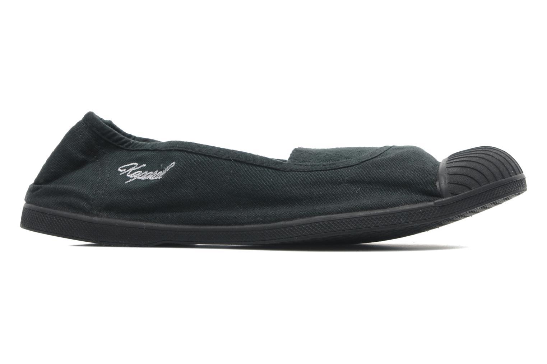 Sneakers Kaporal Vandana Zwart achterkant