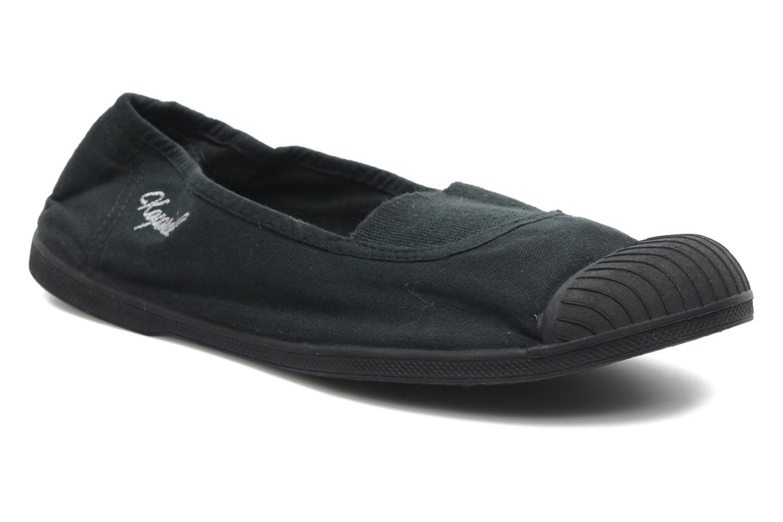 Sneakers Kaporal Vandana Zwart detail