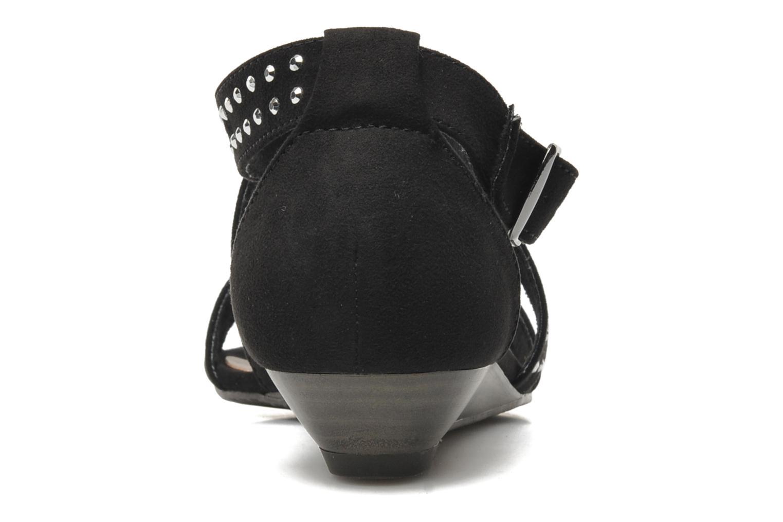 Sandales et nu-pieds Tamaris Hallborsil Noir vue droite