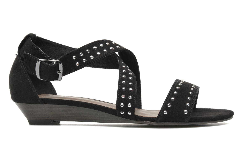 Sandales et nu-pieds Tamaris Hallborsil Noir vue derrière