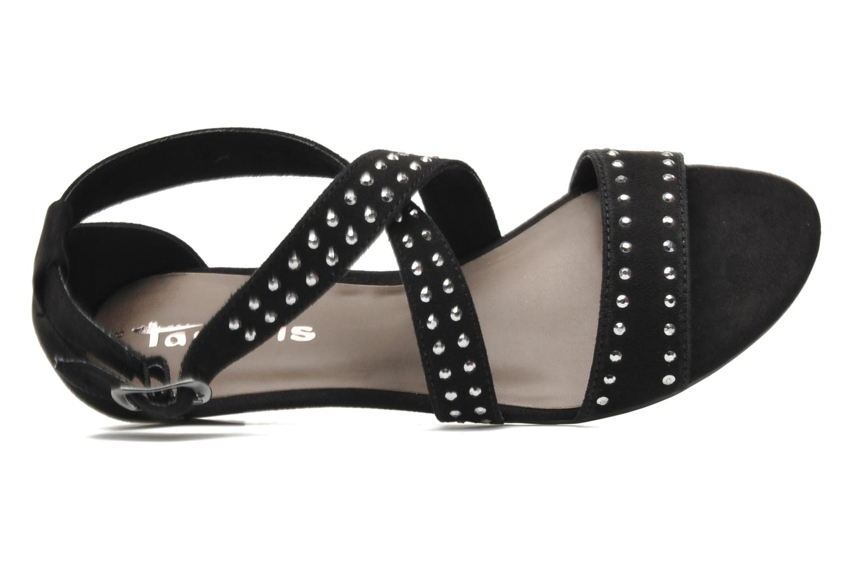 Sandales et nu-pieds Tamaris Hallborsil Noir vue gauche
