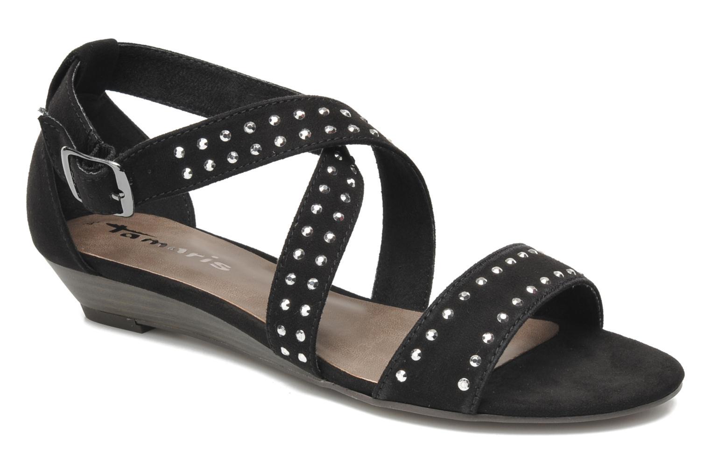 Sandales et nu-pieds Tamaris Hallborsil Noir vue détail/paire