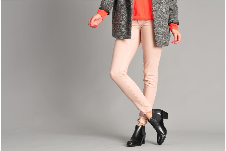 Bottines et boots Georgia Rose Tabou Marron vue bas / vue portée sac