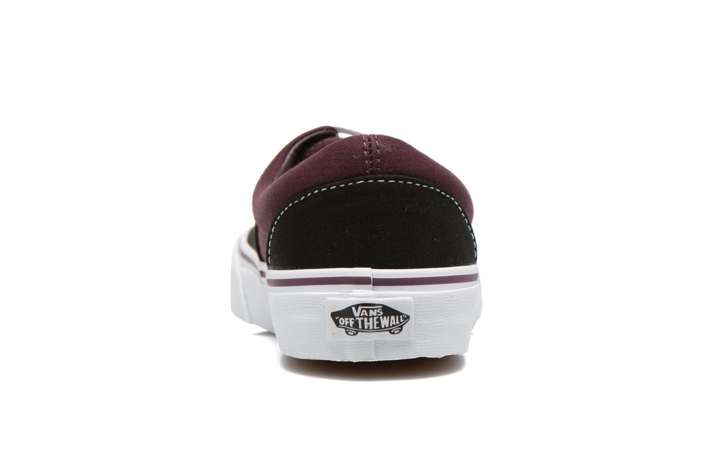 Sneakers Vans Era E Zwart rechts