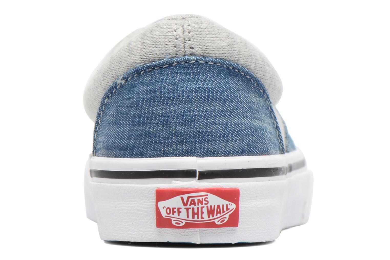 Sneakers Vans Era E Blå Se fra højre