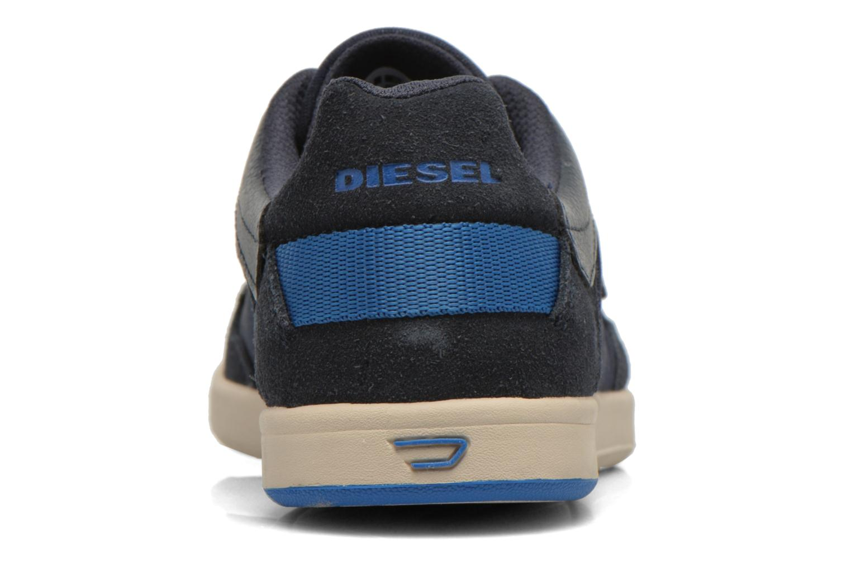 Baskets Diesel Starch Bleu vue droite