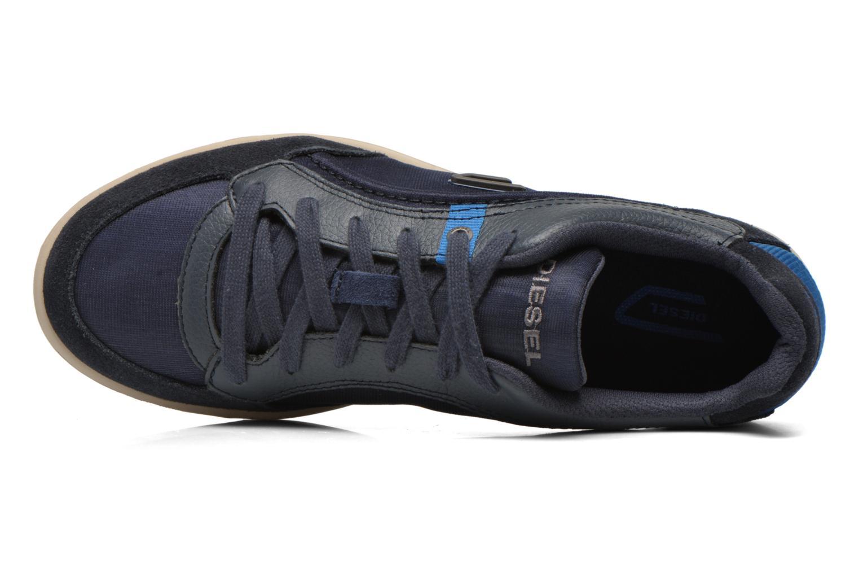 Baskets Diesel Starch Bleu vue gauche