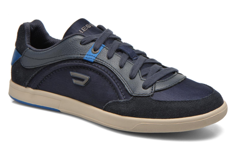 Baskets Diesel Starch Bleu vue détail/paire