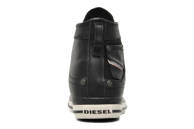 Baskets Diesel Exposure I Noir vue droite