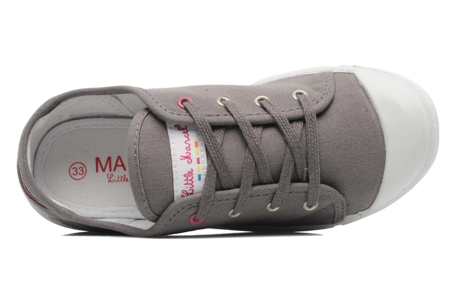 Sneaker Little Marcel SANLAS PLAIN J grau ansicht von links