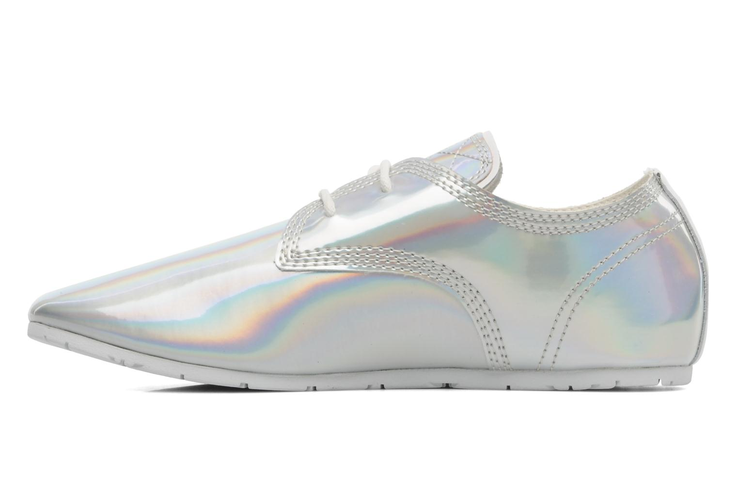 Sneakers Eleven paris Basic Patent Holo F Zilver voorkant
