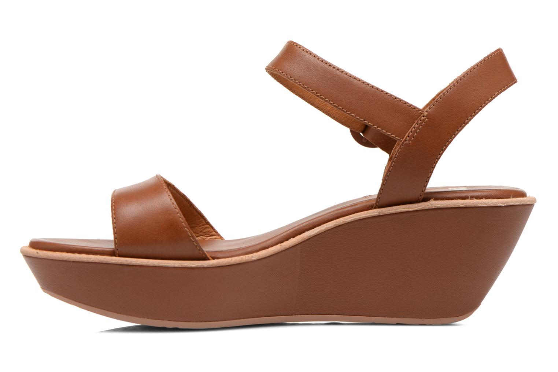 Sandales et nu-pieds Camper Damas 21923 Marron vue face