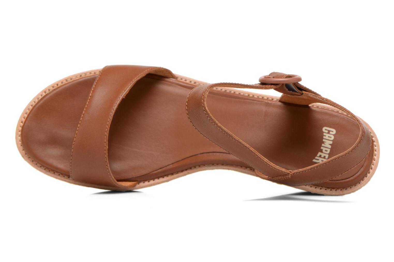 Sandales et nu-pieds Camper Damas 21923 Marron vue gauche
