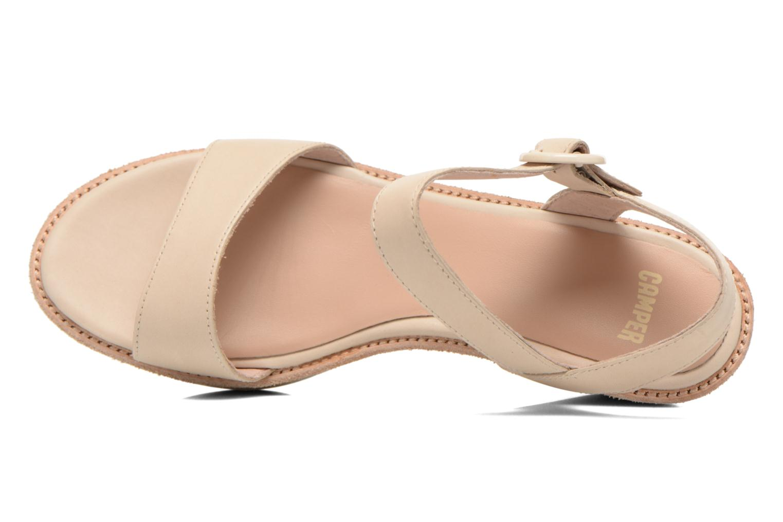 Sandalen Camper Damas 21923 Beige links