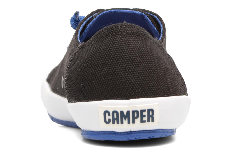 Sneakers Camper Peu Rambla Vulcanizado 18869 Zwart rechts