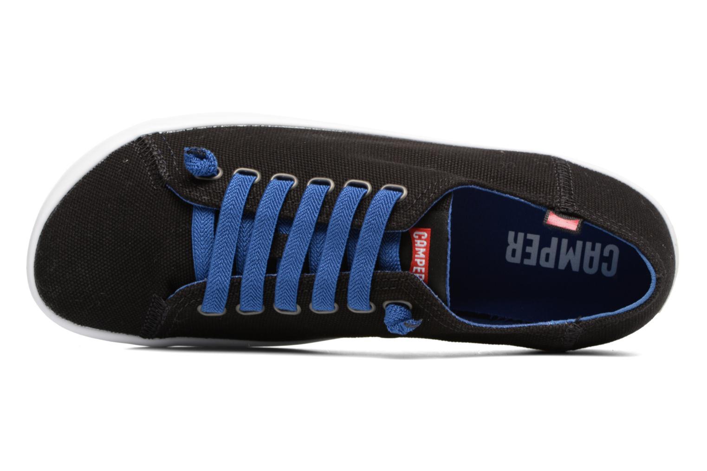 Sneakers Camper Peu Rambla Vulcanizado 18869 Zwart links